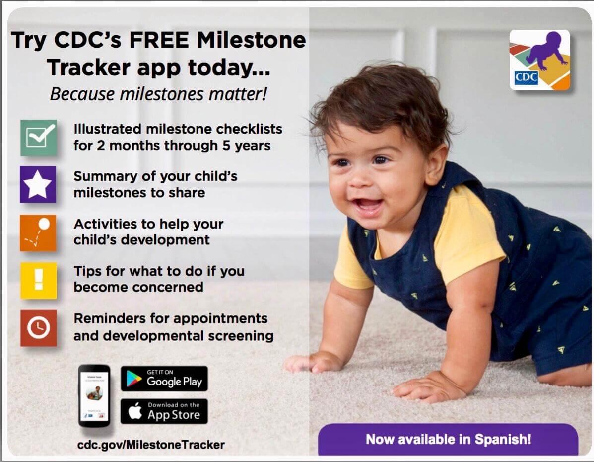 CDC Milestones Tracker App